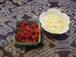 Berries from the Bloor-Borden mini farmers market which runs every Wednesday!